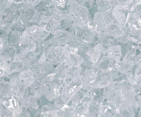 Glasgranulat (kantig)